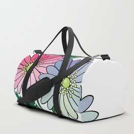 Bouquet of abstract flowers Duffle Bag