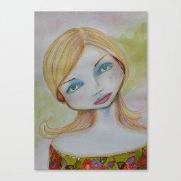 Bella SASS Girl - Candy - SASS = Strong and Super Smart Canvas Print