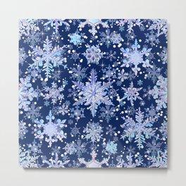 Snowflakes #3 Metal Print