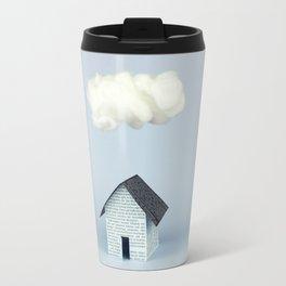 A cloud over the house Travel Mug