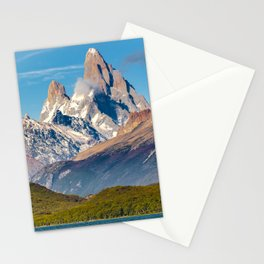 Lake and Andes Mountains, Patagonia - Argentina Stationery Cards
