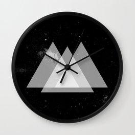 galactic pyramids Wall Clock