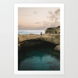 Adriatic sea, 2017 Art Print