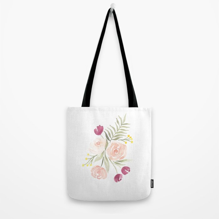 Watercolor Florals for Spring? Groundbreaking. Tote Bag