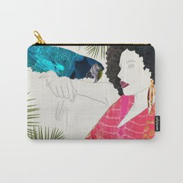 Rainforest Vogue Carry-All Pouch