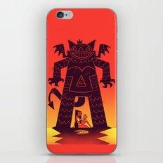 Pizza Demon iPhone & iPod Skin