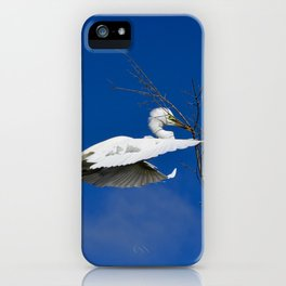Fly Softly and Carry a Big Branch iPhone Case