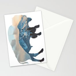Bison Mountain Stationery Cards