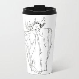 Line XVI (female [back]) Travel Mug