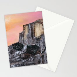 Yosemite Oil Painting Stationery Cards