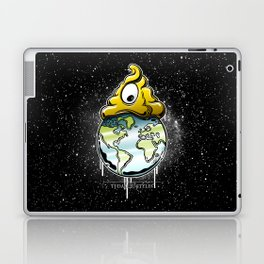 shit rules the world Laptop & iPad Skin
