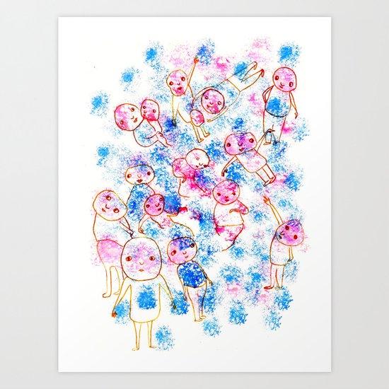 GENTE Art Print