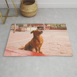 Small puppy Rug