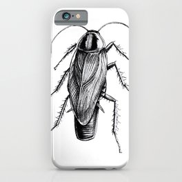 Cockroach Pen Art Drawing iPhone Case