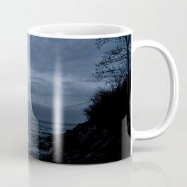 Verrazano Bridge: In Blue Coffee Mug
