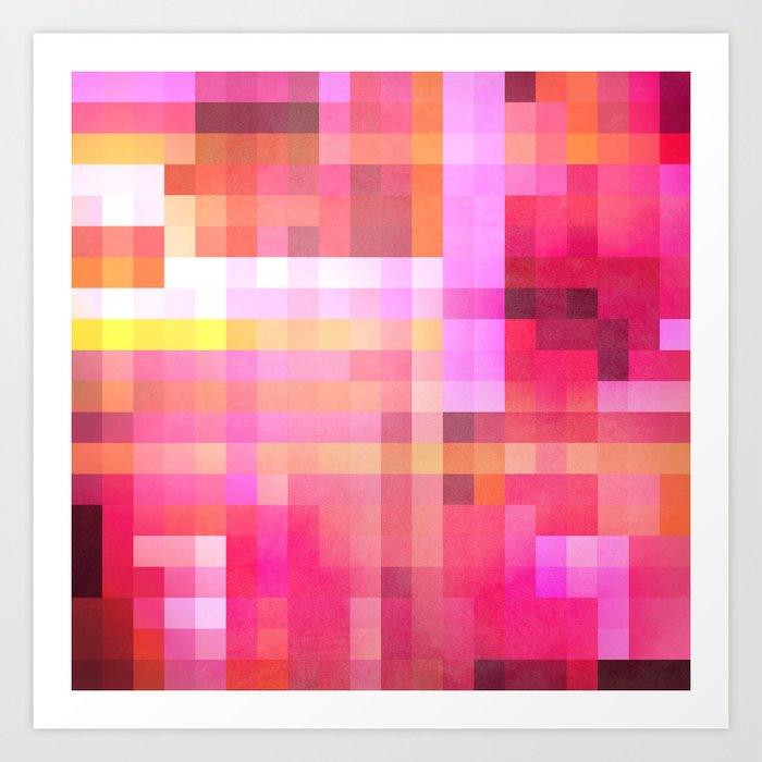 Pixel 1 Art Print