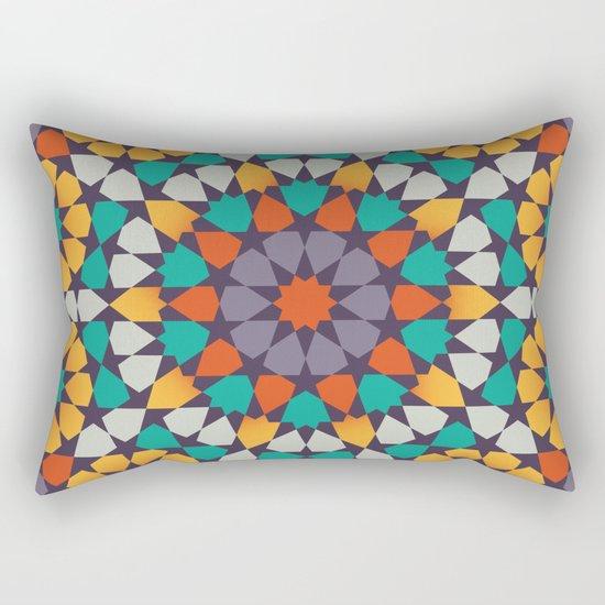 Scattered Petals Rectangular Pillow