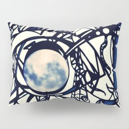 Moon Scaffolding Pillow Sham