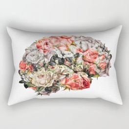 Flower Brain Rectangular Pillow