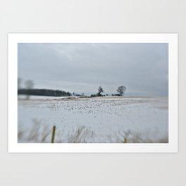 Stratford Winter Art Print
