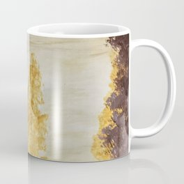 Golden secluded forest Coffee Mug