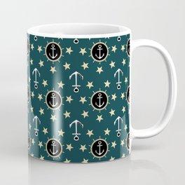 Anchors and Stars Coffee Mug