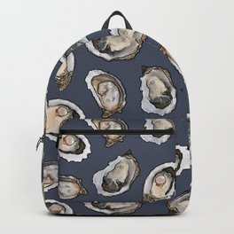 Oysters by the Dozen in Blue Backpack