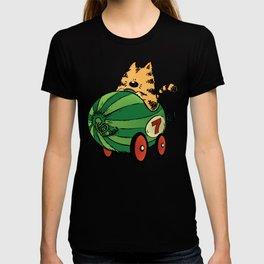 Albert and his watermelon ride T-shirt