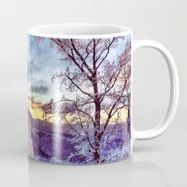 Icy Forest Awakens Coffee Mug
