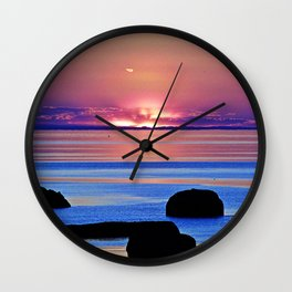 Colorful Dusk Wall Clock