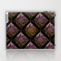Detailed diamond, bordeaux glow Laptop & iPad Skin
