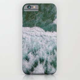 Surf Photography, Beach Wall Art Print, Ocean Water Surfing, Coastal Decor iPhone Case