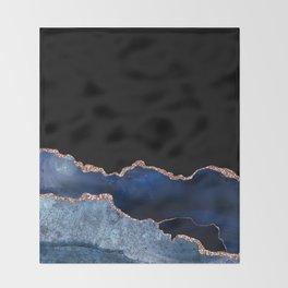 Beautiful Rose Gold Desert Design Pattern Throw Blanket