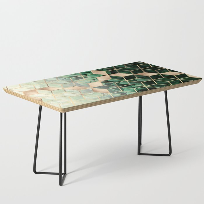 Leaves And Cubes Coffee Table By Elisabethfredriksson