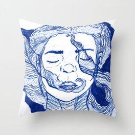 blue dream 2 Throw Pillow