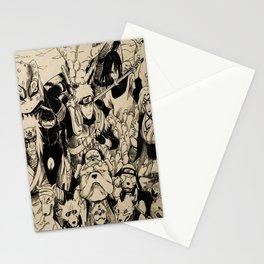 sannin legendaris Stationery Cards