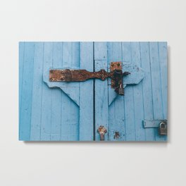 Blue Lock Metal Print