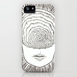 Inward Spiral iPhone Case