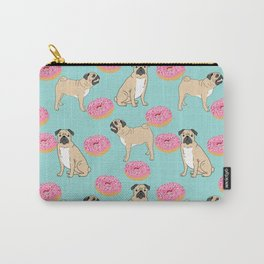 Pug lover food dog breed gifts pure breed pugs donuts doughnuts Carry-All Pouch