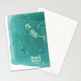 Gelatinous Cube Stationery Cards