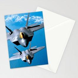 Lockheed Martin F-22 Raptor Stationery Cards