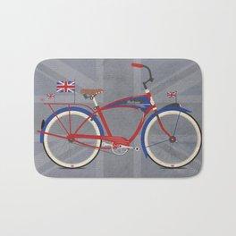 British Bicycle Bath Mat