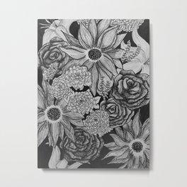 Dark Flora Metal Print