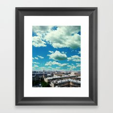 With love, forever yours. Framed Art Print