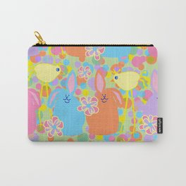 Bunnies and Friends Carry-All Pouch