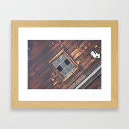 Old Times Framed Art Print