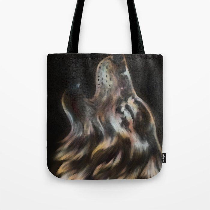 Iridescent Howl Tote Bag