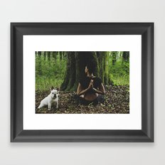 Ruka Framed Art Print