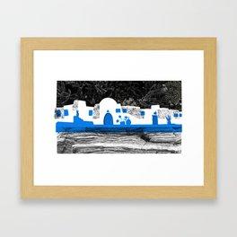 Cyclades 2 Framed Art Print