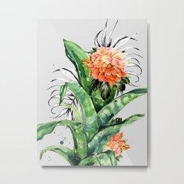 Collage of florid nature Metal Print